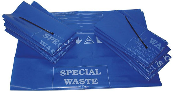 Spill-Safe Premium Disposal Bag & Ties - ADBT - ADBT/100