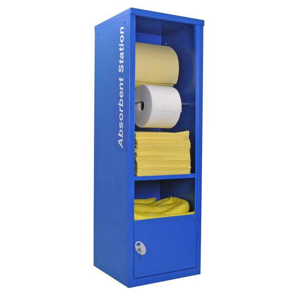 Spill-Safe Chemical Absorbent Dispenser Cabinets - AECCH - AECCHRF