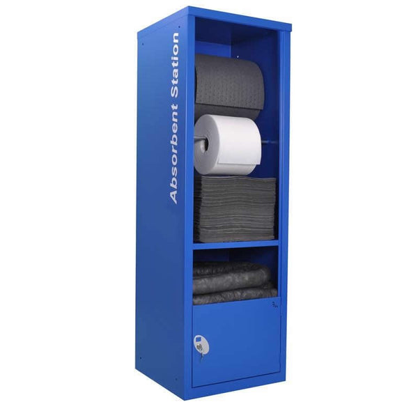 Spill-Safe Steel Spill Absorbent Dispenser Cabinet (Empty) - AEC