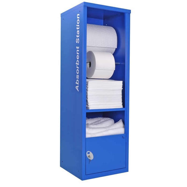 Spill-Safe Oil & Fuel Absorbent Dispenser Cabinets - AECOO - AECOORF