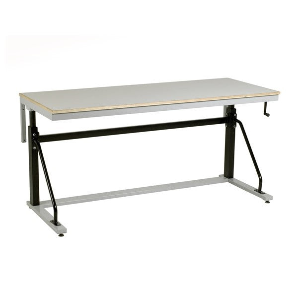 Redditek Cantilever Adjustable Height Stainless Steel Workbenches - AHB1-SS - AHB9-SS