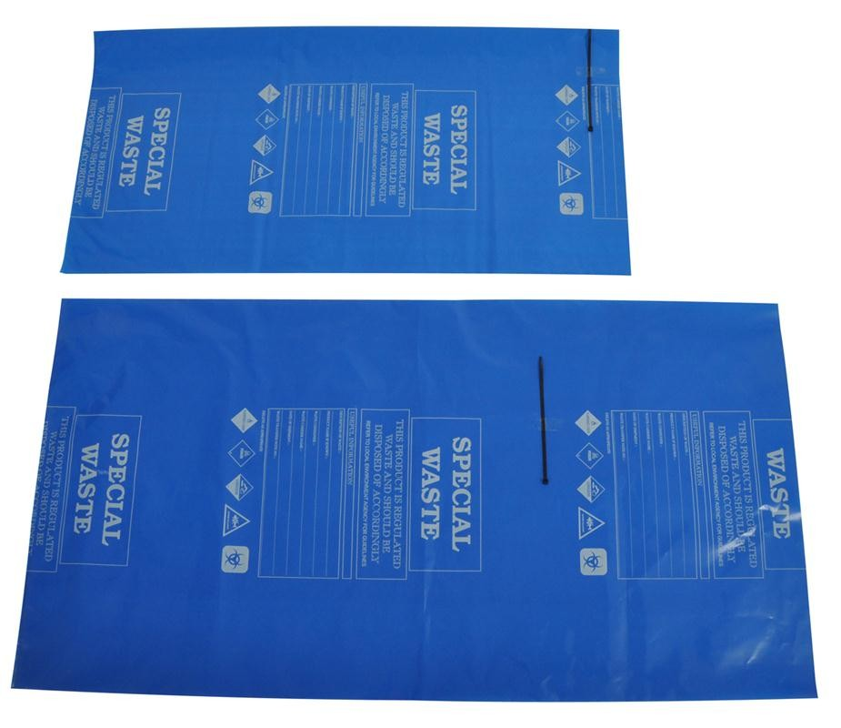 Spill-Safe Value Disposal Bag & Ties - AVABT - AVABT/100