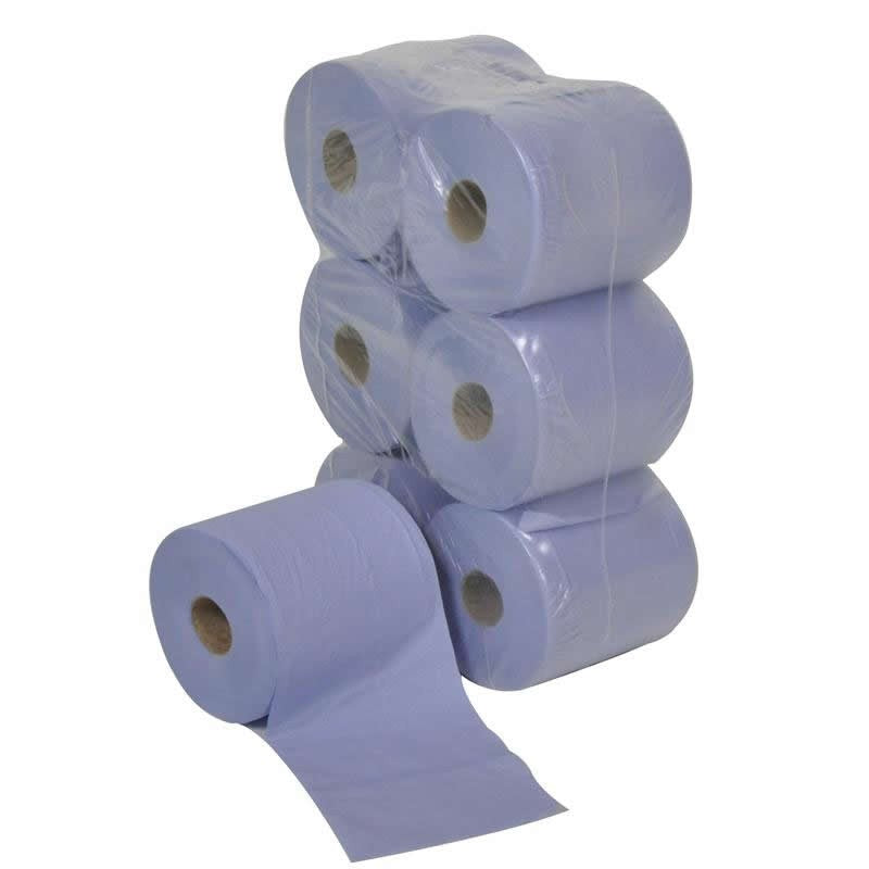 Spill-Safe 2 Ply Paper Roll Wiping Cloths - WW2106