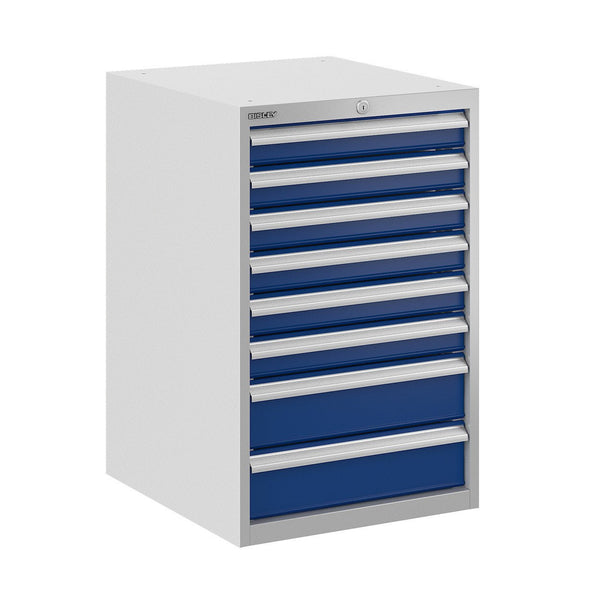 Bisley ToolStor Industrial 8 Drawer Static Cabinet - BIS400219W