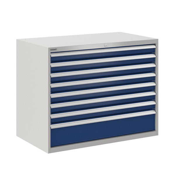 Bisley ToolStor Industrial 8 Drawer Static Cabinet - BIS400241W