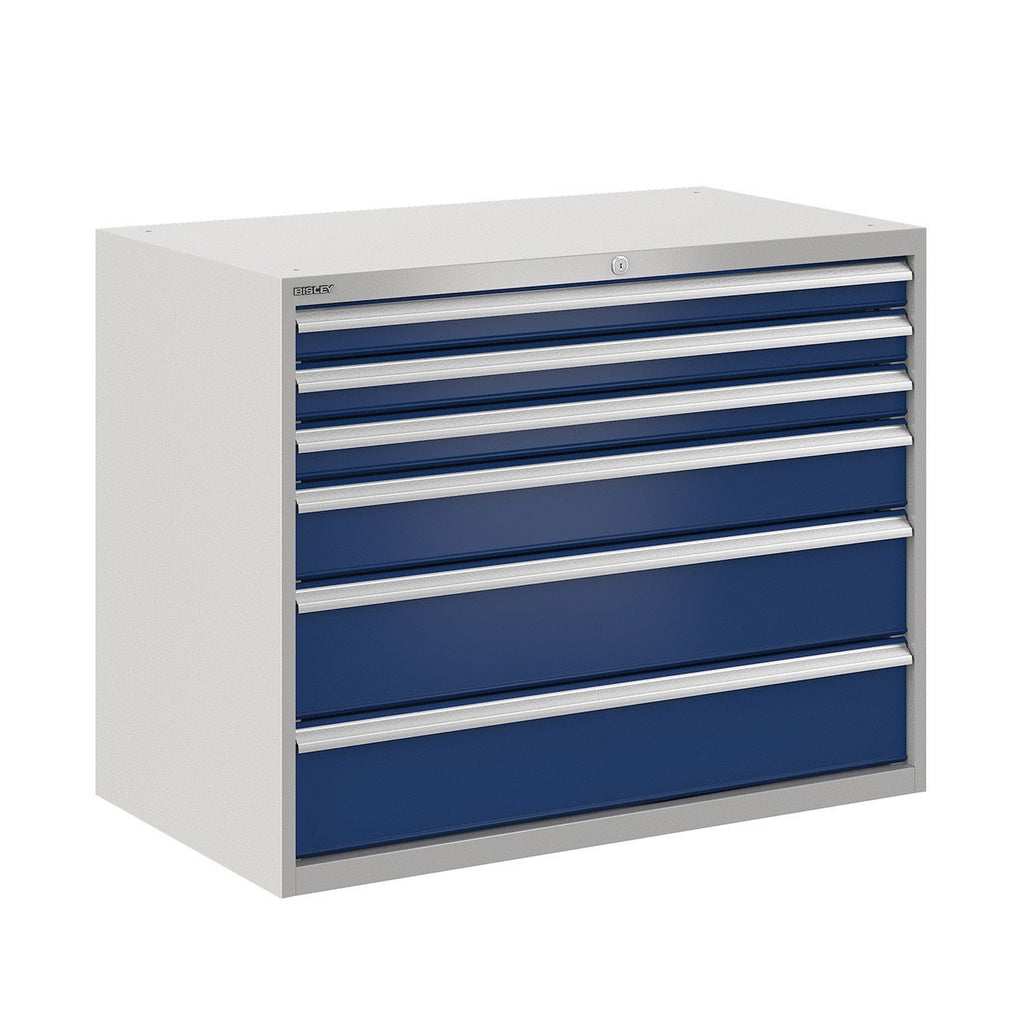 Bisley ToolStor Industrial 6 Drawer Static Cabinet - BIS400245W