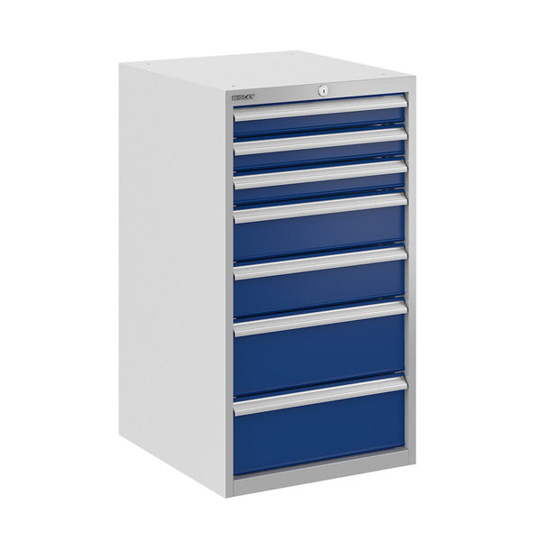 Bisley ToolStor Industrial 7 Drawer Static Cabinet - BIS400261W