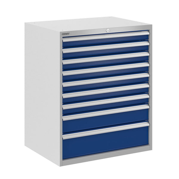 Bisley ToolStor Industrial 9 Drawer Static Cabinet - BIS400271W