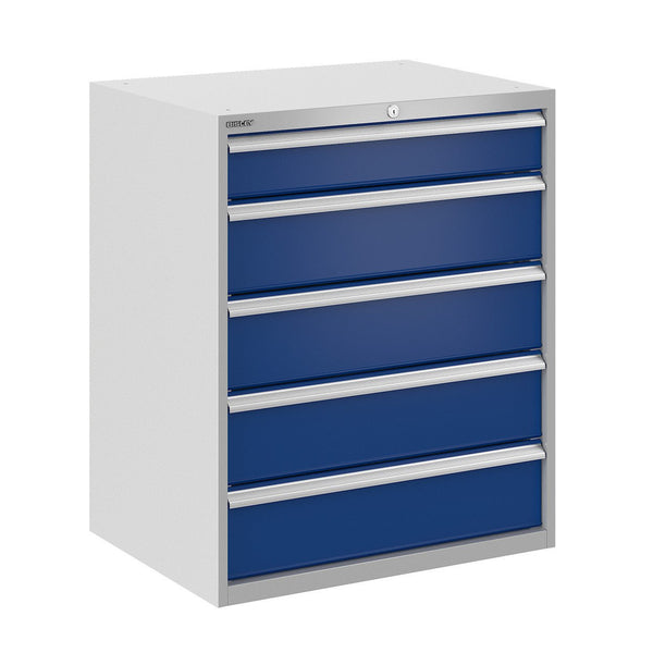 Bisley ToolStor Industrial 5 Drawer Static Cabinet - BIS400283W