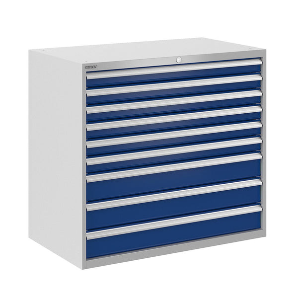 Bisley ToolStor Industrial 9 Drawer Static Cabinet - BIS400289W