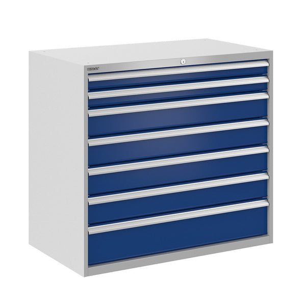 Bisley ToolStor Industrial 7 Drawer Static Cabinet - BIS400295W