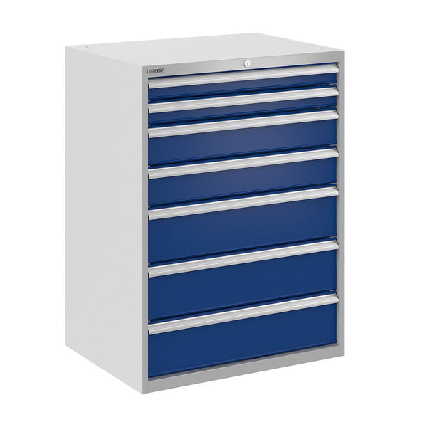 Bisley ToolStor Industrial 7 Drawer Static Cabinet - BIS400329W