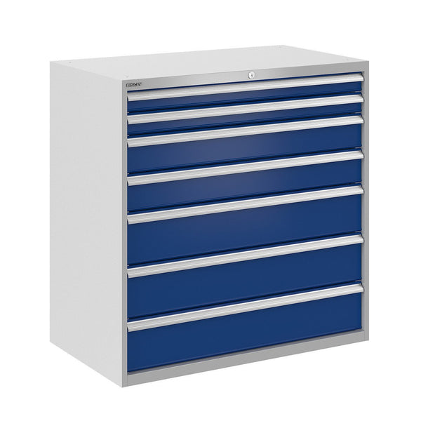 Bisley ToolStor Industrial 7 Drawer Static Cabinet - BIS400345W