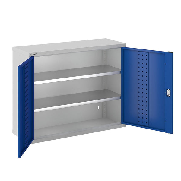 Bisley ToolStor Industrial 2 Shelf Wall Cabinet - BIS403211W