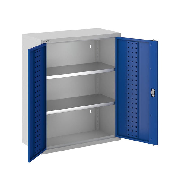 Bisley ToolStor Industrial 2 Shelf Wall Cabinet - BIS403215W