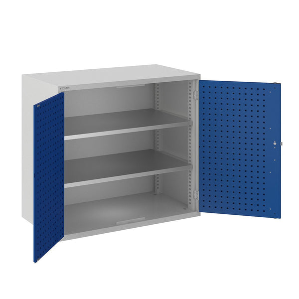 Bisley ToolStor Industrial 2 Shelf Storage Cupboard - BIS404200W
