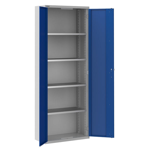 Bisley ToolStor Standard 4 Shelf Storage Cupboard - BIS404213W