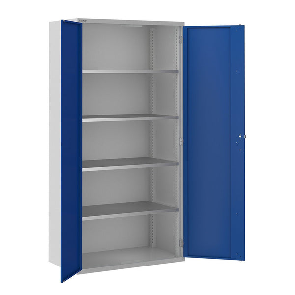 Bisley ToolStor Standard 4 Shelf Storage Cupboard - BIS404231W