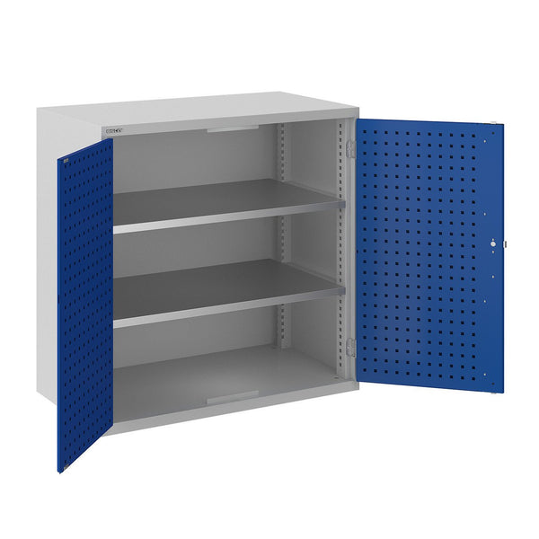 Bisley ToolStor Industrial 2 Shelf Storage Cupboard - BIS404243W