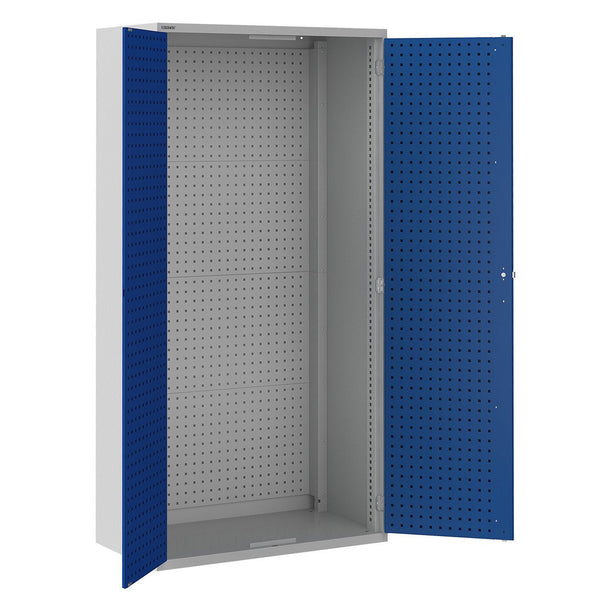 Bisley ToolStor Industrial Full Height Perforated Panel Cupboard - BIS404275W