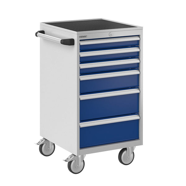 Bisley ToolStor Industrial 6 Drawer Mobile Cabinet - BIS600221W