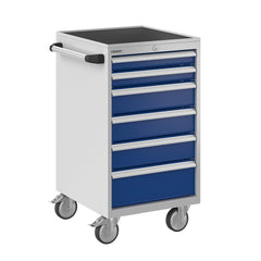 Bisley ToolStor Industrial 6 Drawer Mobile Cabinet - BIS600223W