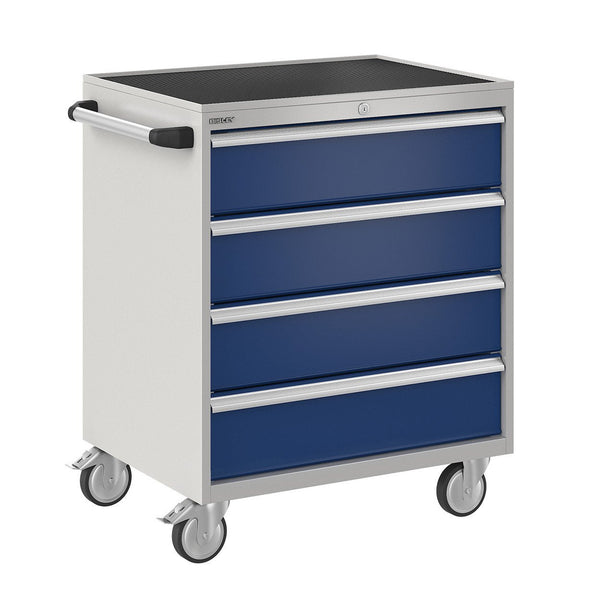 Bisley ToolStor Industrial 4 Drawer Mobile Cabinet - BIS600239W