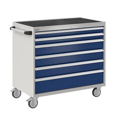 Bisley ToolStor Industrial 6 Drawer Mobile Cabinet - BIS600247W