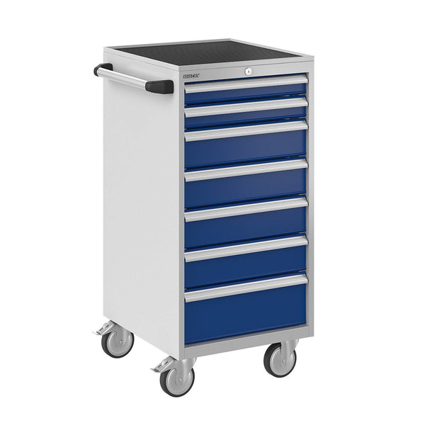 Bisley ToolStor Industrial 7 Drawer Mobile Cabinet - BIS600263W