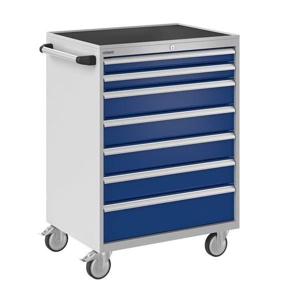Bisley ToolStor Industrial 7 Drawer Mobile Cabinet - BIS600279W