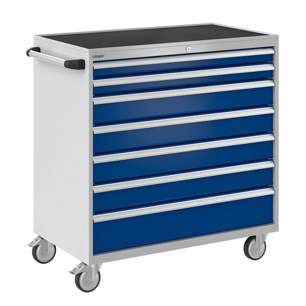 Bisley ToolStor Industrial 7 Drawer Mobile Cabinet - BIS600295W