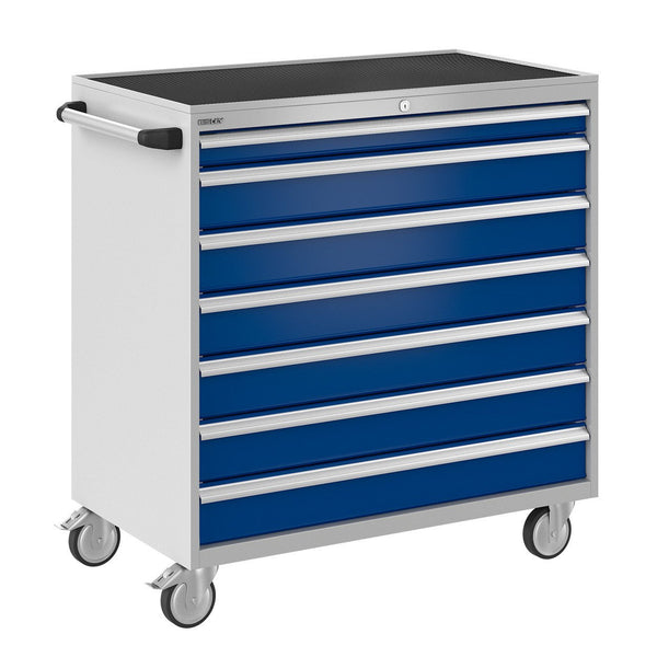 Bisley ToolStor Industrial 7 Drawer Mobile Cabinet - BIS600297W