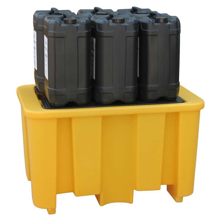 Spill-Safe Single 205 Litre Drum Bunded Spill Pallet - BPFE1
