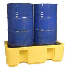Spill-Safe Two 205 Litre Drum Bunded Spill Pallets - BPFE2 - BPFE2/RC