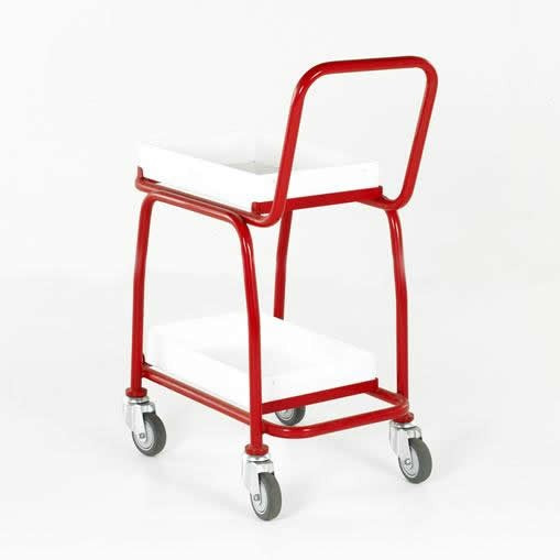 Work Gear 2 Tier Tray Trolley - BT108