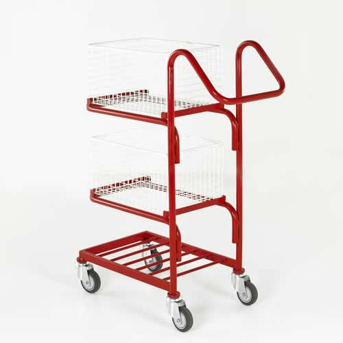 Work Gear 3 Tier Basket Trolley - BT109