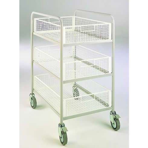 Work Gear Triple Basket Trolley - BT84