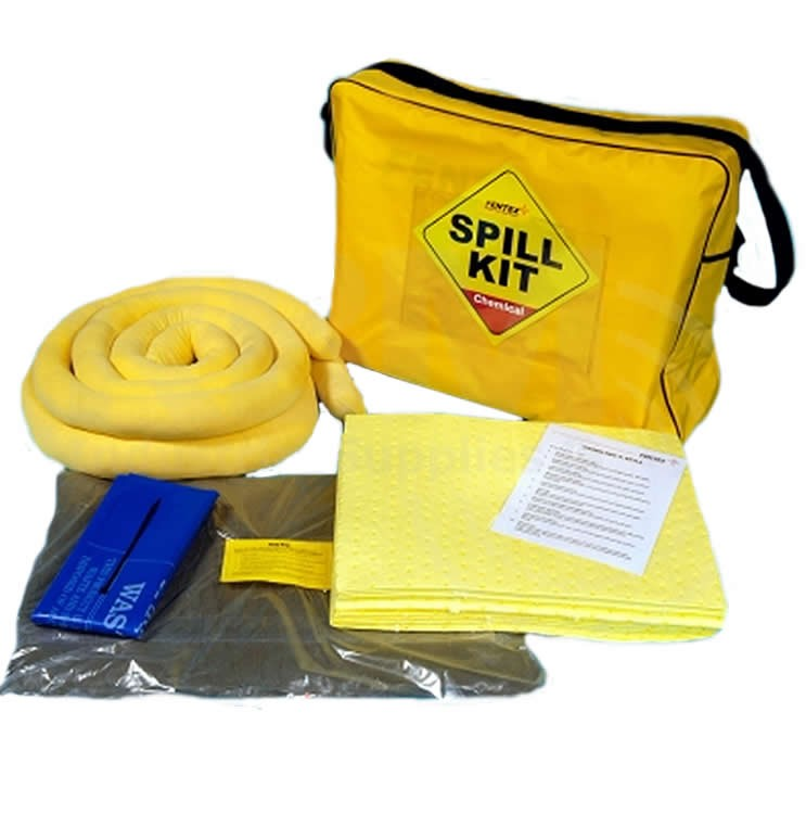 Spill-Safe 50 Litre Chemical Shoulder Bag Spill Kits - CSK4 - CRF4