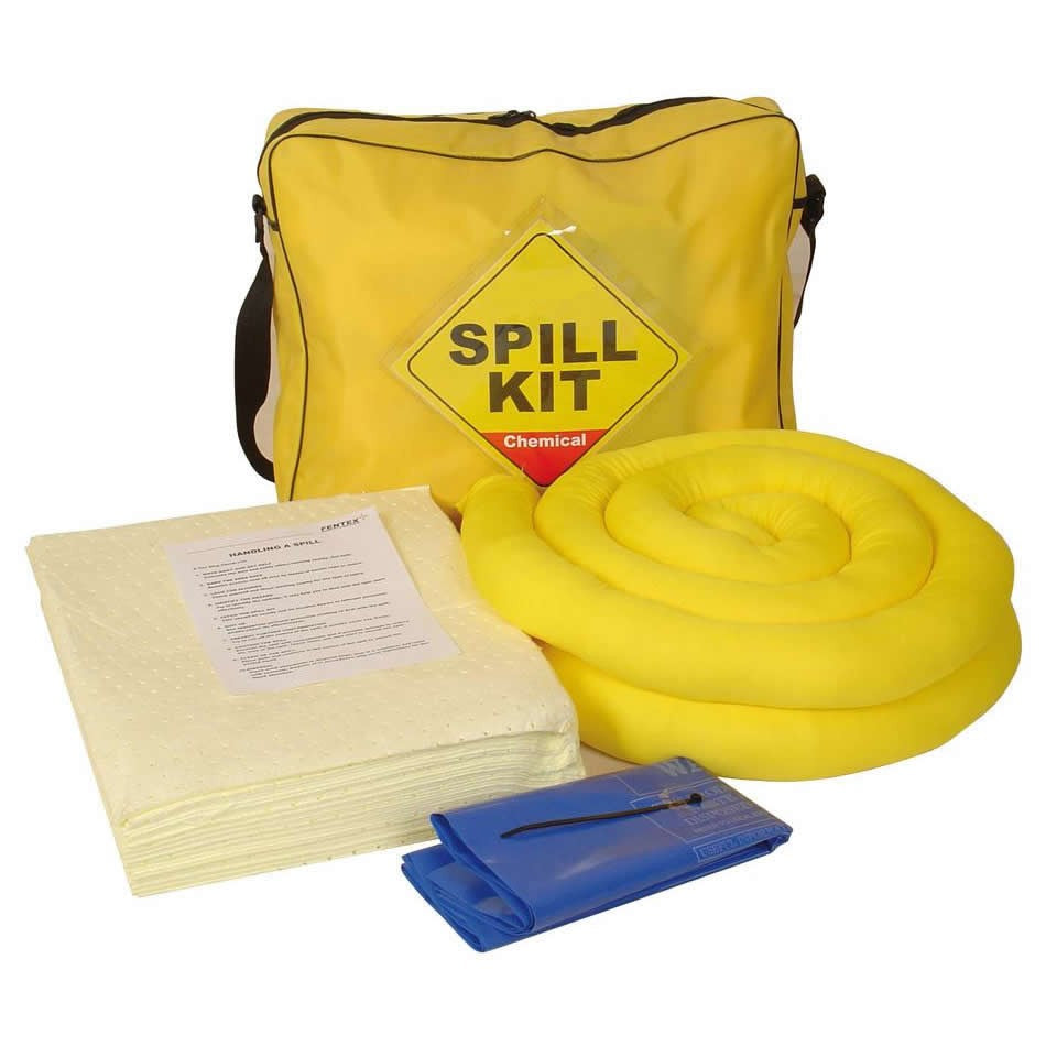 Spill-Safe 50 Litre Chemical Shoulder Bag Spill Kits - CSK50 - CRF50