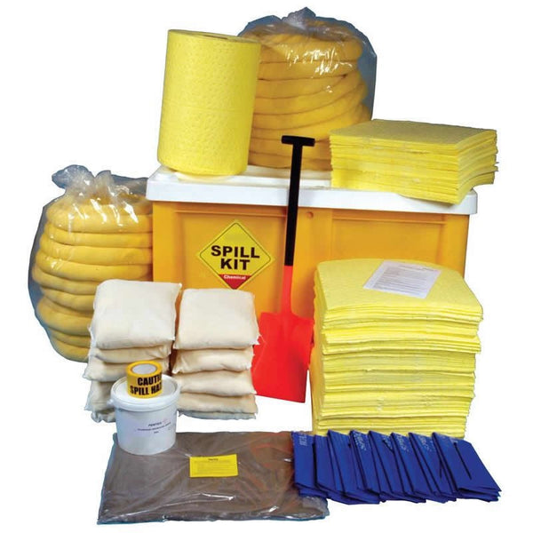 Spill-Safe 600 Litre Chemical Box Pallet Spill Kits - CSKB - CRFB