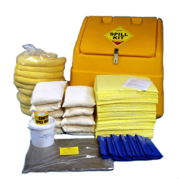 Spill-Safe 350 Litre Chemical Mobile Locker Spill Kits - CSKK - CRFK
