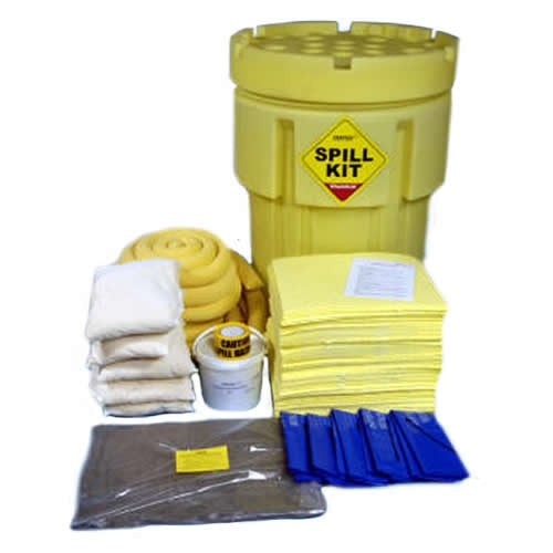 Spill-Safe 250 Litre Chemical Overpack Drum Spill Kits - CSKO - CRFO