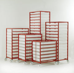 Work Gear Food Grade Mobile Tray Racks - CT306 - CT316