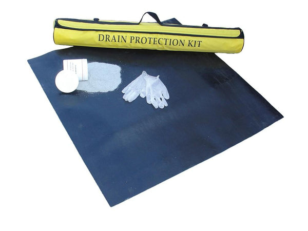 Spill-Safe Lightweight Drain Protection Kit - DPK1