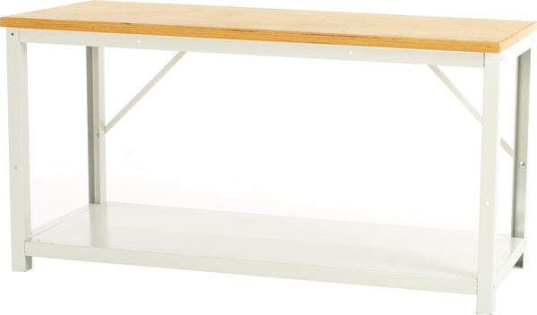 Bott Verso 800mm Deep Fixed Height Framework Bench with Full Depth Shelf - 16901960.16V - 16901975.16V