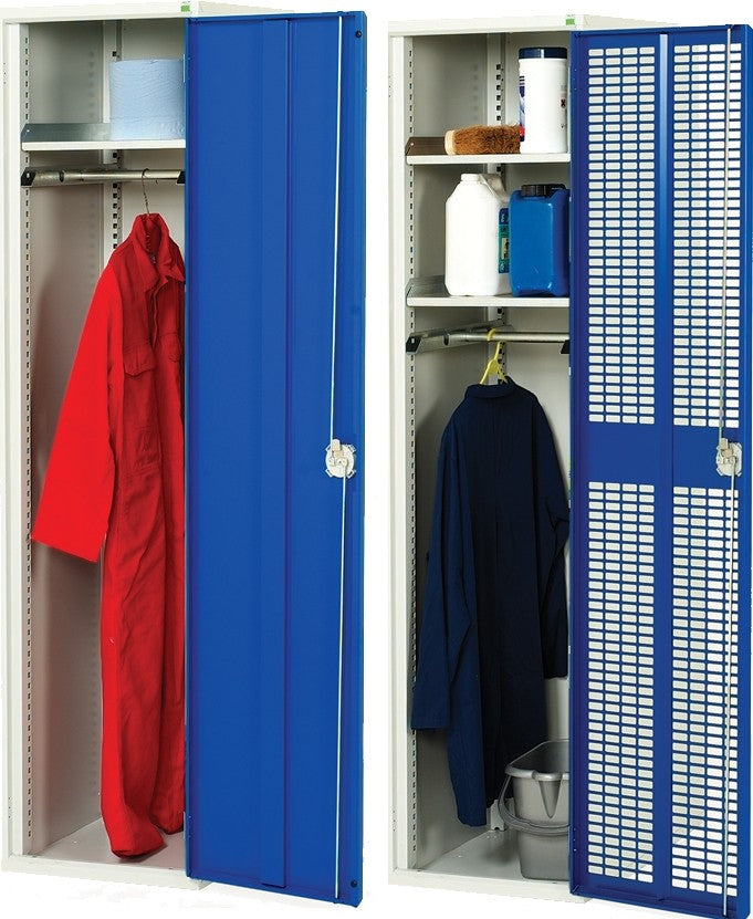 Bott 500mm Wide PPE & Janitorial Cupboard - 16916340.11V - 16916261.11V