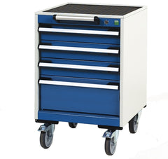 Bott Cubio 525mm Wide Mobile Drawer Cabinet - 40402109.11V - 40402021.11V
