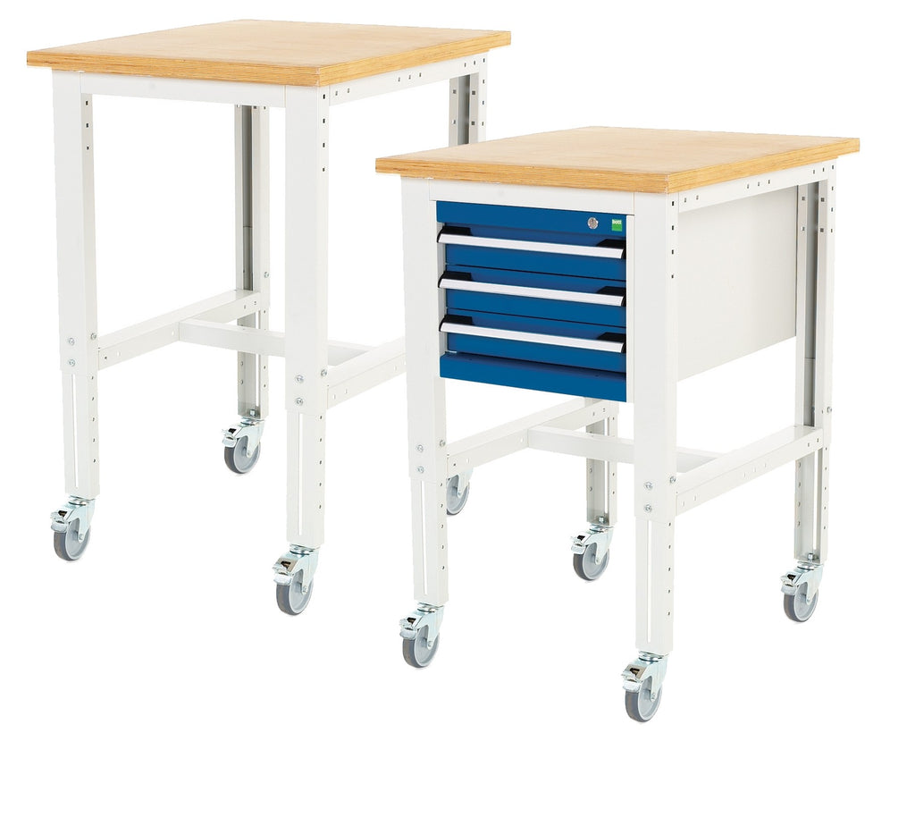 Bott Cubio 840-1140 x 750 x 750mm Workstands - 41003265.16V - 41003529.11V