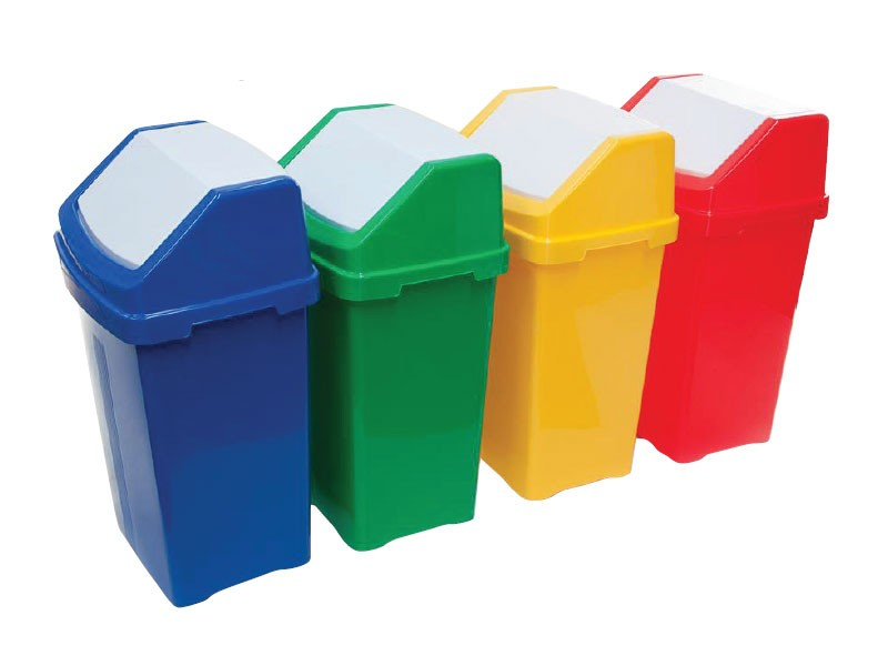 Recycling Flip Top Bins - SK30126/BLU - SK30126/YEL