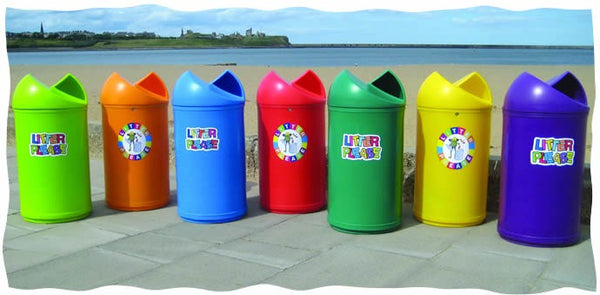 Twist Litter Bins - TF - TL